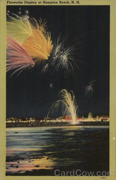 Fireworks Display Hampton Beach New Hampshire