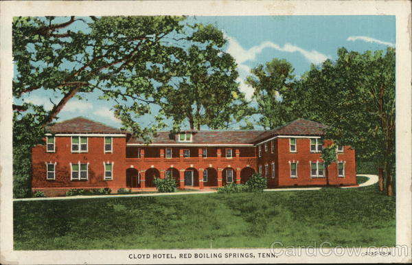 Cloyd Hotel Red Boiling Springs Tennessee