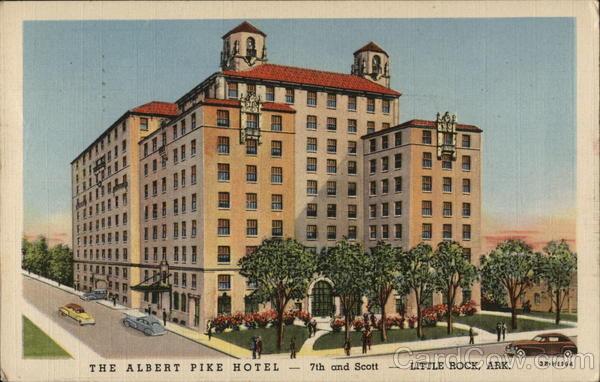 The Albert Pike Hotel Little Rock Arkansas
