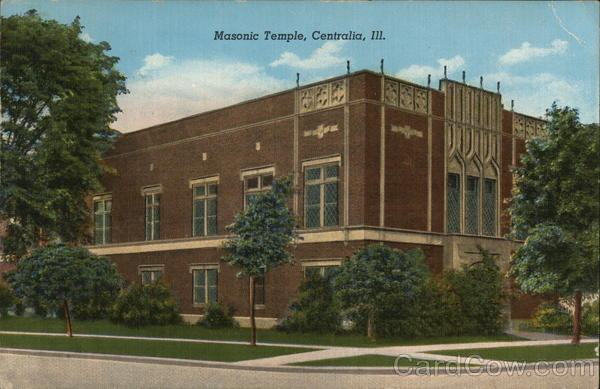 Masonic Temple Centralia Illinois