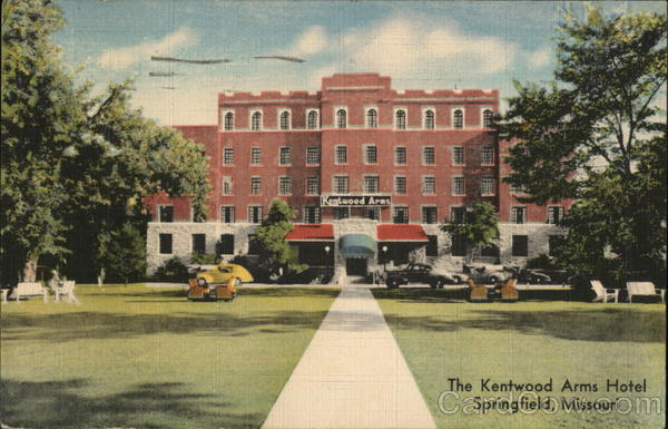 The Kentwood Arms Hotel Springfield Missouri