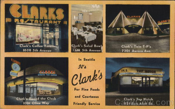 Clark's Restaurants Seattle Washington