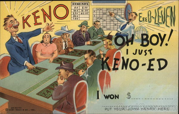 Keno! Oh Boy! I just Keno-ED!! Casinos & Gambling