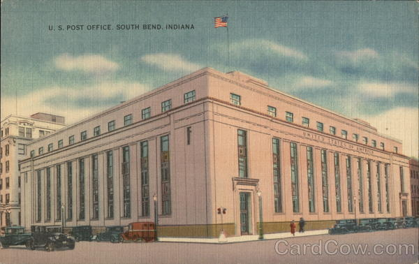 U. S. Post Office South Bend Indiana