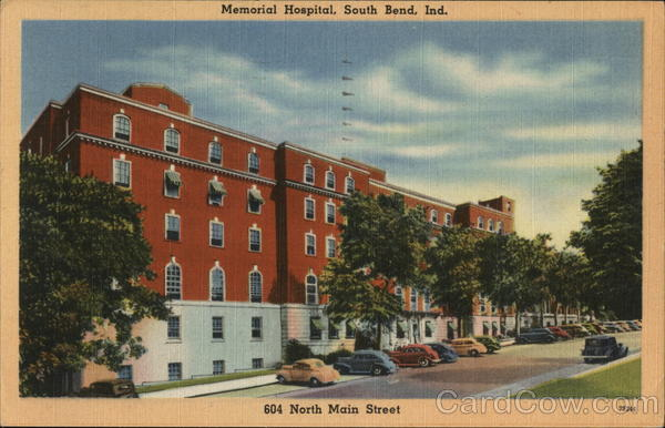 Memorial Hospital, South Bend, Ind. Indiana