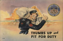 Thumbs Up and Fit For Duty, United States Maritime Service