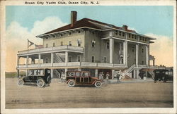 Ocean City Yacht Club Postcard