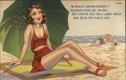 Bathing Beauty - I'm Really Rather Modest