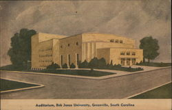 Bob Jones University - Auditorium Postcard