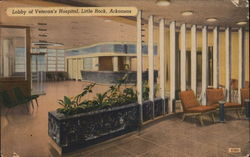 Lobby of Veteran's Hospital, Little Rock, Arkansas