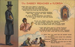 The Darkey Preacher in Florida