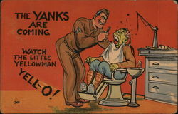 The Yanks Are Coming! Anti-Japan