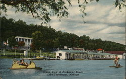 Scenic View of Rockaway Beach, Lake Taneycomo