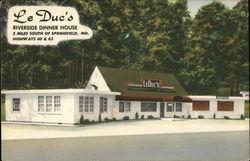 Le Duc's Riverside Dinner House