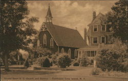 Sacred heart B.C. Church and Rectory