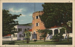 The Bluebeard Castle Hotel Postcard
