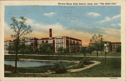 "Horace Mann High School, Gary, Ind. ""The Steel City"""