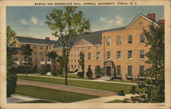 Martha Van Rensselaer Hall at Cornell University