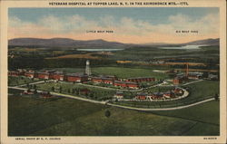 Veterans Hospital at Tupper Lake, N.Y. In the Adirondack mts.