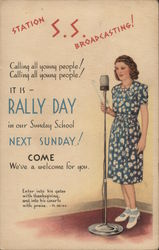 Station S.S. Broadcasting - It is Rally Day in our Sunday School Next Sunday!