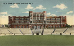 View of Academy High School and Stadium