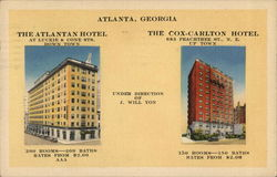 The Atlantan Hotel The Cox-Carlton Hotel