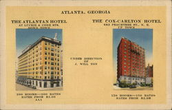 The Atlantan and Cox-Carlton Hotels
