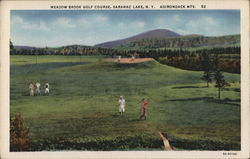 Meadow Brook Golf Course Postcard