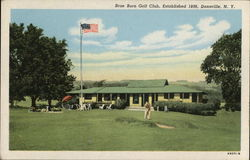 Brae Burn Golf Club Postcard
