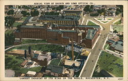 Aerial View of Bausch and Lomb Optical Co.