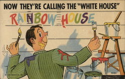 "Now They're Calling the ""White House"" Rainbow House"