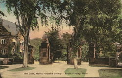Mount Holyoke College - The Gate