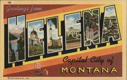 Greetings from Helena Capital City of Montana