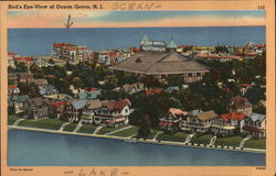 Bird's Eye View of Ocean Grove, N.J.