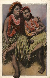 Hula Dancers, Hawaiian Islands
