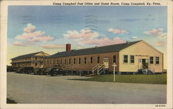 Camp Campbell Post Office and Guest House Postcard