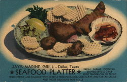 Jay's Marine Grill Seafood Platter
