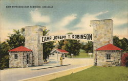 Main Entrance Camp Joseph T. Robinson, Arkansas