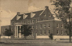 Caraway Hall, Women's Dormitory, Arkansas Polytechnic College