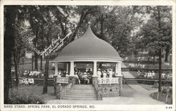 Spring Park - Band Stand