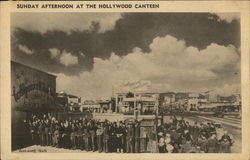 Sunday Afternoon at the Hollywood Canteen