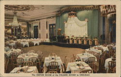 The Empire Room of the Palmer House