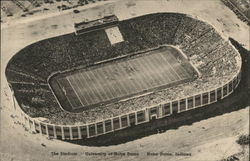 University of Notre Dame - Stadium Postcard
