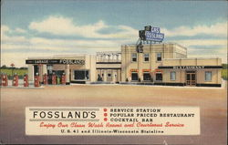 Fossland's Restaurant, Cocktail Bar and Service Station