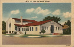 B.P.O. Elks Lodge Postcard