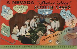 "A Nevada ""Pair-o'-dice"" - Shootin' Craps"