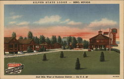 Silver State Lodge Postcard