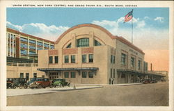 Union Station, NewYork Central and Grand Trunk R.R.
