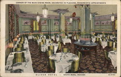 The Oliver Hotel - Main Dining Room