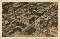Oliver Hotel - Aerial View